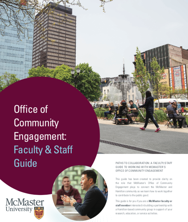 Image of the Office of Community Engagement's Faculty & Staff guide.